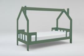 1 persoons kinderbed Slaaphuisje groen