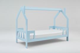1 persoons kinderbed Slaaphuisje lichtblauw