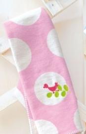 Wiegdeken roze