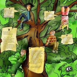Gezelschapsspel: staan als een boom (vanaf 8 jaar)