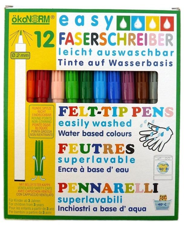 Viltstiften zonder schadelijke stoffen