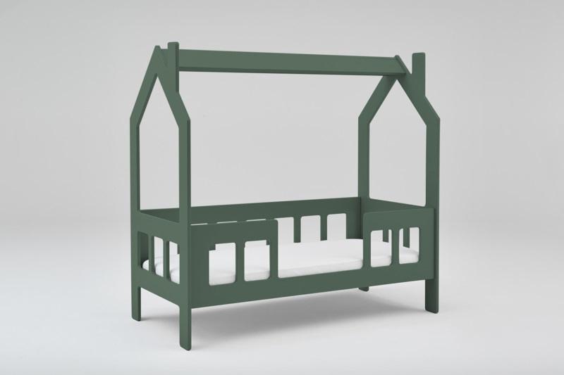 Peuterbed Slaaphuisje groen