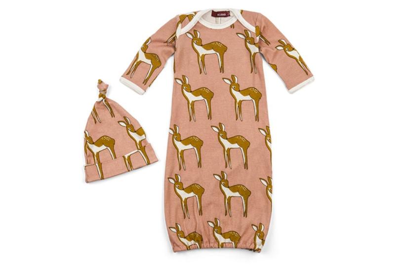 Newborn slaapzak & mutsje Bambi