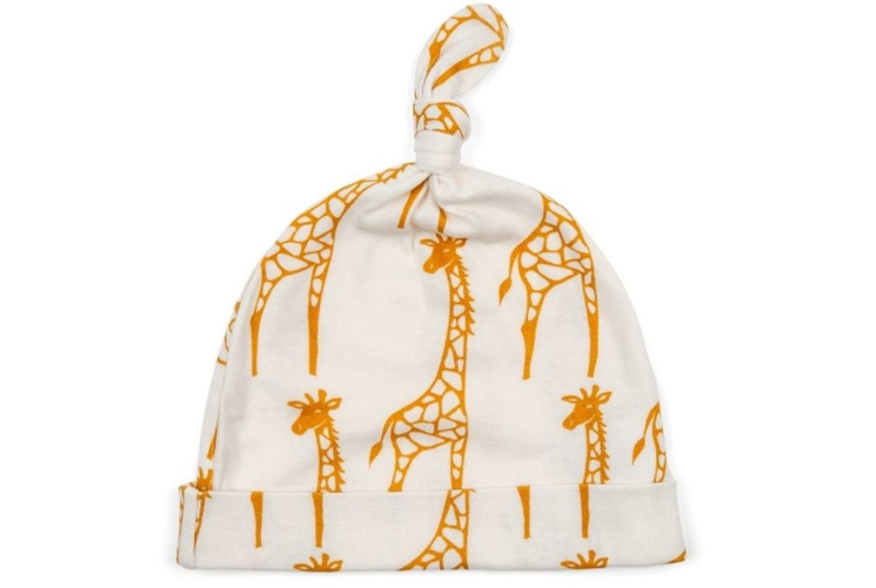Baby mutsje Giraf