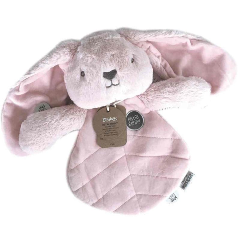 Knuffeldoekje Konijn - roze