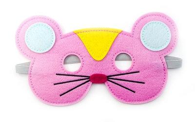 Masker Muis - roze