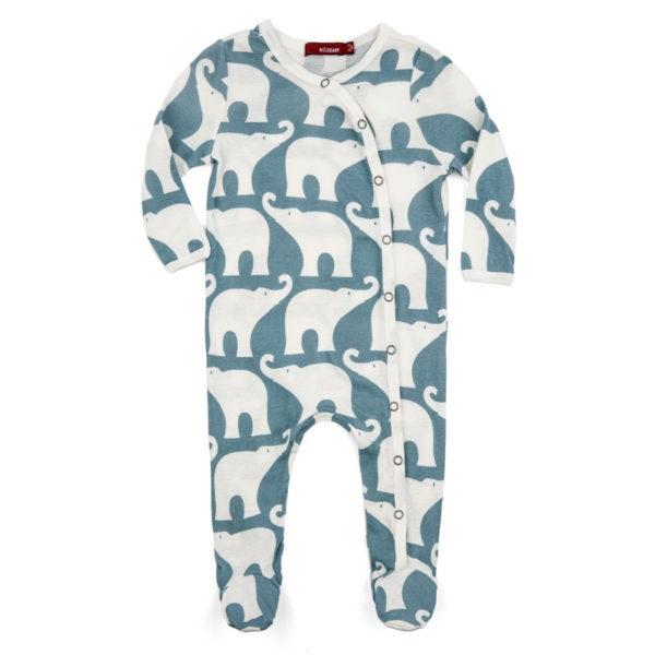 Baby pyjama Olifant  - blauw