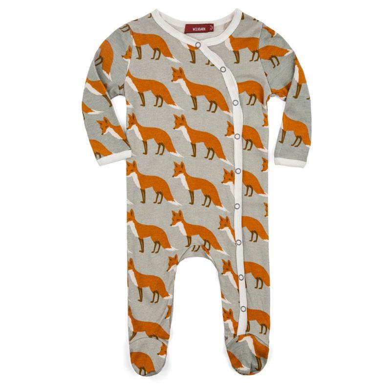 Baby pyjama Vos  - grijs