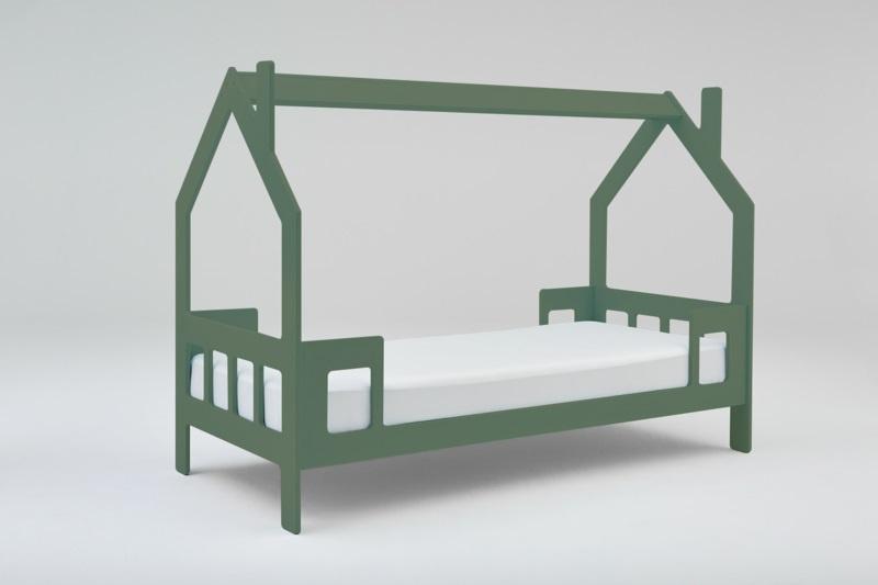 Wonderbaar bed in de vorm van een huisje | deKleineVogelaar KG-45