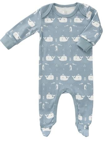 Babypyjama met voetjes  Walvis