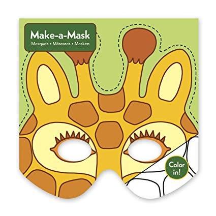 Maak een masker - Jungle dieren /20st