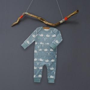 Babypyjama walvis