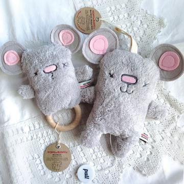 Muziekdoos & rammelaar muis