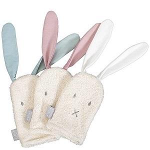 Washandjes konijn biologisch katoen