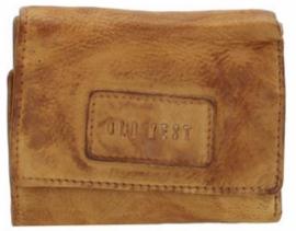 Old West Round Rock portemonnee klein Oler geel