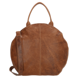 Micmacbags shopper Côte d'Azur bruin groot 18041
