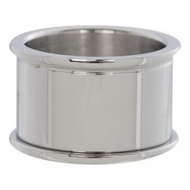 Basisring 12 mm zilver