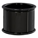 Basisring 16 mm zwart