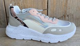 Sneaker wit roze/zalm