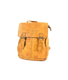 "Old West ""Paint Rock""Back Pack rugzak leer oker geel"