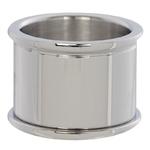 Basisring 16 mm zilver