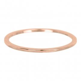 """Ring 1 mm """" Wave"""" rosé"""