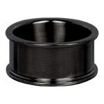 Basisring 10 mm zwart