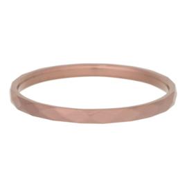 iXXXi Jewelry Smal Hammerite Bruin 2mm