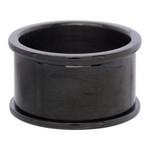 Basisring 12 mm zwart