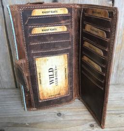Huiden portemonnee 030