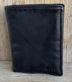 Old West portemonnee leer zwart