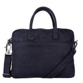 "Laptoptas Dstrct"" Wall street"" workingbag 15'4 zwart"