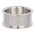 Basisring 10 mm zilver