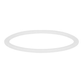Ixxxi jewelry Ceramic Wit 1 mm(artnr. RO3904-06)