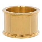 Basisring 14 mm goud