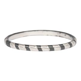 iXXXi Jewelry Rope Zilver & Zwart 2mm