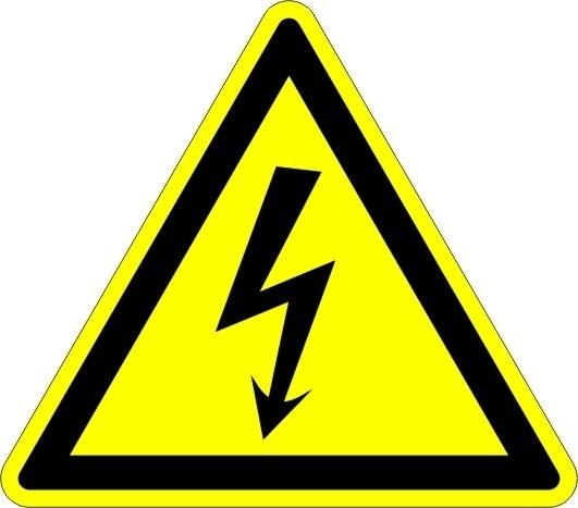 Pictobord Elektrische Spanning