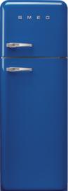 Smeg retro koelkast FAB30RBE3 rechtsdraaiend blauw