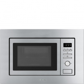 Smeg Magnetron met grill Roestvrijstaal FMI017X