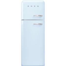 Smeg retro koelkast FAB30LPB3 linksdraaiend pastelblauw