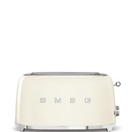 Smeg outlet broodrooster TSF02CREU 2x4 creme