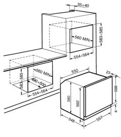 Smeg oven inbouw SF6400TVX