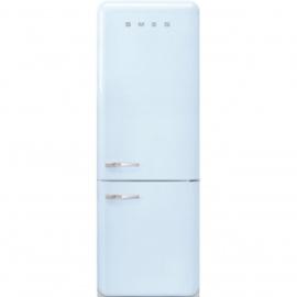 Smeg koelkast FAB38RPB rechtdraaiend Pastelblauw
