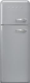 Smeg retro koelkast FAB30LSV3 linksdraaiend zilvermetallic