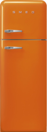 Smeg retro koelkast FAB30ROR3 rechtsdraaiend oranje