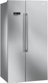 Smeg koelkast SBS63XDF