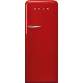 Smeg retro koelkast FAB28RRD3 rechtsdraaiend rood
