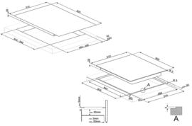 Smeg kookplaat 90cm PV395LCNNLK