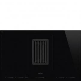 Smeg inductie kookplaat Hood-in-hob HOBD682D