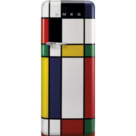 Smeg retro koelkast FAB28RDMC3 multi color rechtsdraaiend